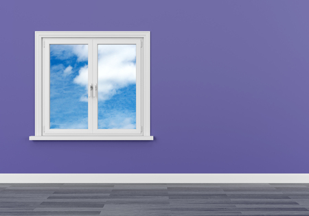 window sky clouds freedom dream vision serene Foto de archivo - 117352604