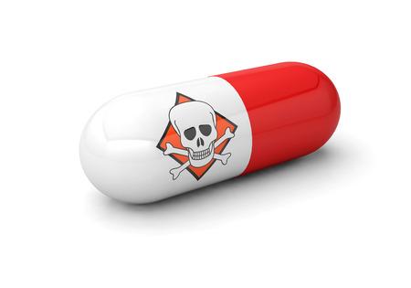 danger medicine pill drugs addiction Foto de archivo - 117352605