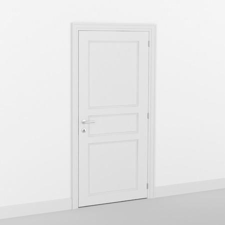 closed door Foto de archivo - 117352758
