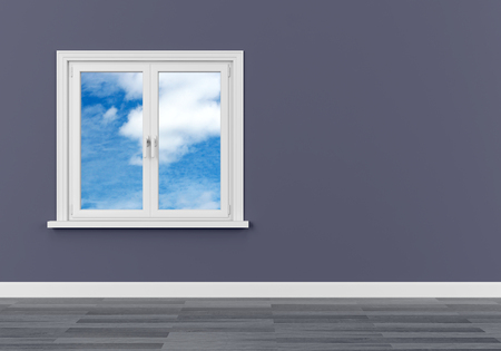 window sky clouds dream dream vision serene 3D Foto de archivo - 117352765