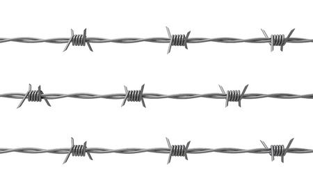 barbed wire 3D