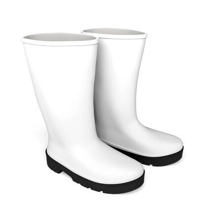 boots rainboots rainboots waterproof boots Foto de archivo - 133168831