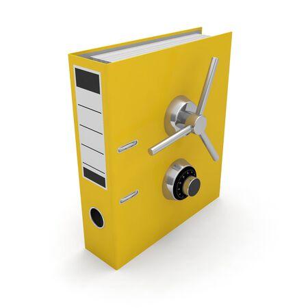 security binder protection folder document