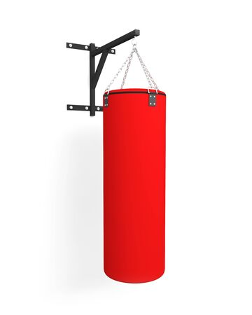 punching bag boxing sport bag Foto de archivo - 133168883