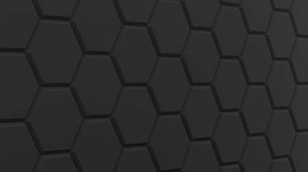 background black polygon hexagon abstract template empty design graphic 3D