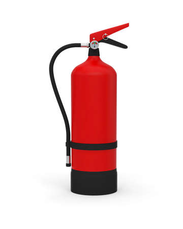 extinguisher equipment safety fire red protection safe rescue 3D