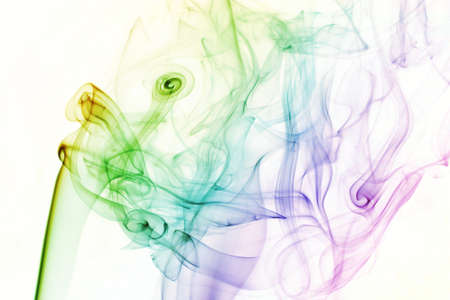 background colored smoke abstract