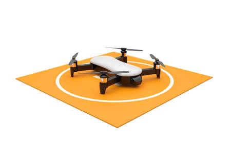 3D uav quadrocopter drone