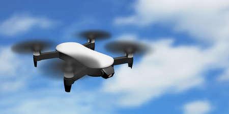 quadrocopter flight uav 3D drone