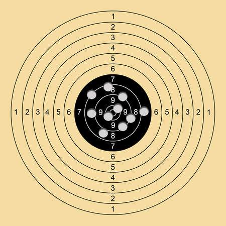 sniper shooting target