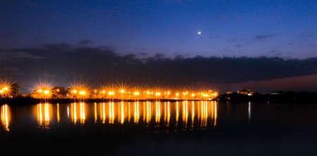 sunsets twilight star khonkaen university Imagens