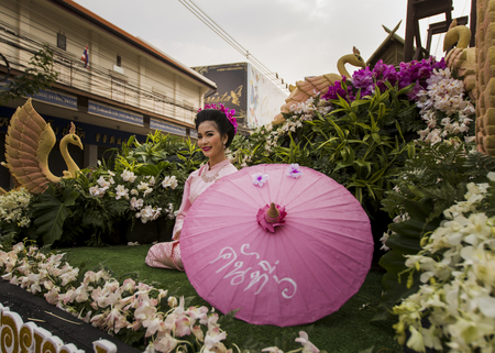 Chiang Mai flower festival Thailand
