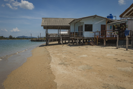 Summer house on the beach on Koh Lanta, Thailand