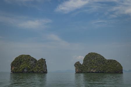 Islands in Thailand near Phuket Stock Photo