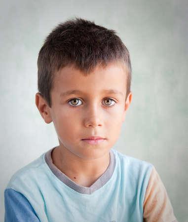 Portrait of a young boy