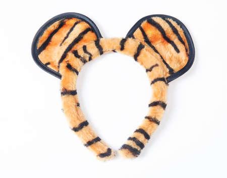 headband: Headband tiger style isolated on white background