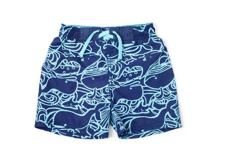 Shorts zum Schwimmen auf einem weißen Hintergrund isoliert
