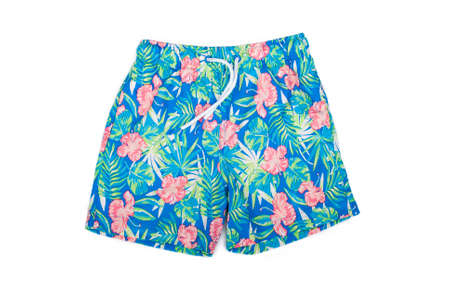 swimming shorts: shorts for swimming on a white background isolated
