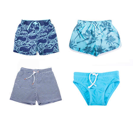 boardshorts: Collage of different shorts for boys