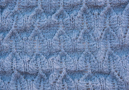 Natural wool clothes and fabrics: textile and fabric macro photo.