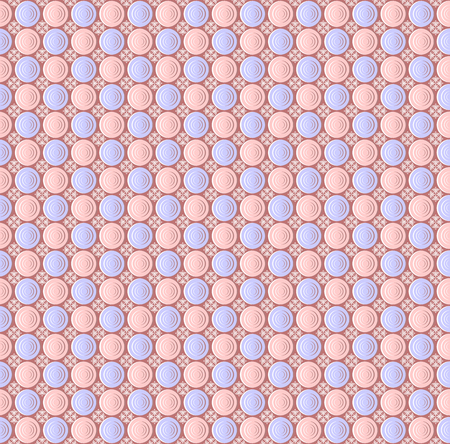 sequential: Abstract seamless pattern of circles.