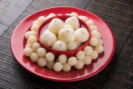 kolkata: Rosogolla or Roshogolla or Rasagola or Ras Gulla or anguri rasgulla or angoori rasgulla, famous Bengali sweet