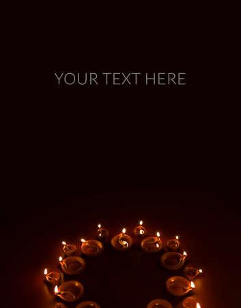 beautiful diwali lighting, selective focus Stock Photo