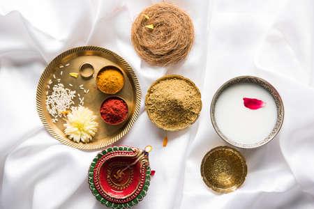 디 왈리 첫날 Abhyanga Snan - ubtan 또는 Utne과 함께하는 특별한 허브 목욕, Diwali, 선택적 집중의 기회에 목욕 및 문지르는 믹스 허브 파우더