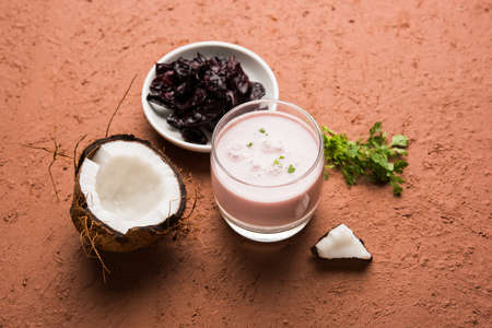 konkan: Solkadhi or sol kadhi, A famous drink from Goa or Maharashtra`s Konkan region