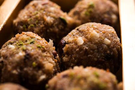 dry fruit laddu or energy dates balls