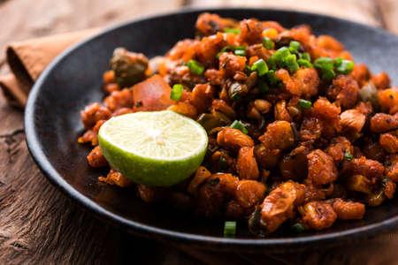 Crispy Corn Masala or chatpata corn or makka, popular indian snack