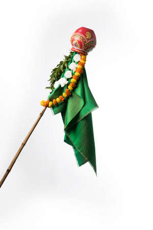 Gudi Padwa Marathi New Year Stock Photo - 96426983