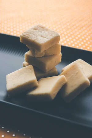 Shrikhand Vadi or Bar or cake is a popular Maharashtrian sweet food