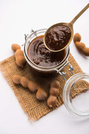 Tamarind Or Imli Fresh Puree, Paste from Pulp
