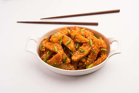 Honey Chilli Potato is a popular Indian Chinese food