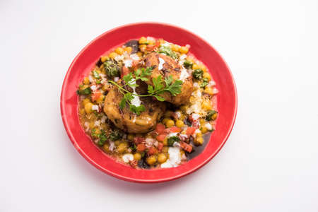 Ragda pattice is part of the street food culture in the Indian states of Maharashtra and Gujarat