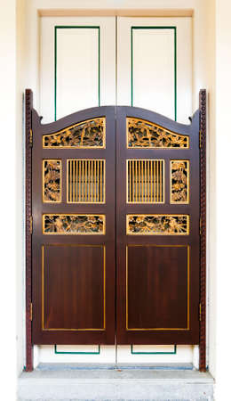 Straits Chinese Swing Door
