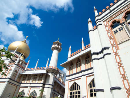 Sultans Mosque in Singapore Stock Photo