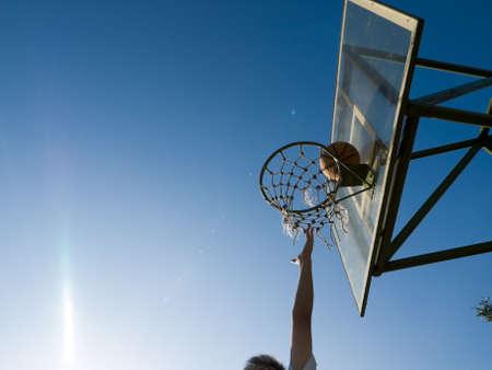 Shooting Basket photo