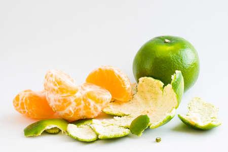 Peeled Honey Mandarin Orange photo