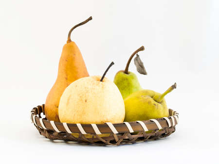 asian pear: Types of Pears