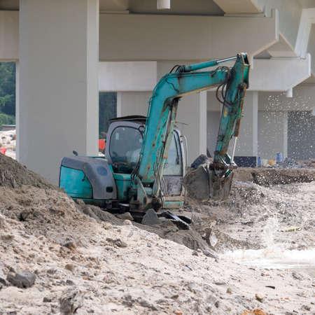 dredging: Dredging Under a Bridge
