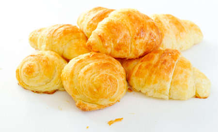 non uniform: Home Made Mini Croissants