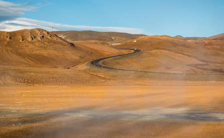 curve road: S curve road