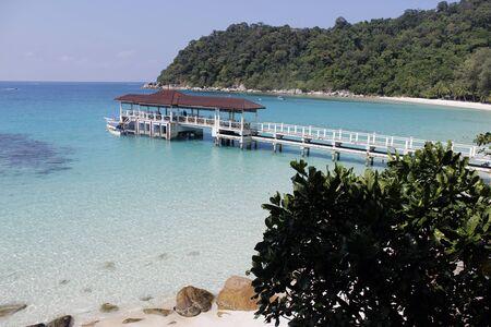 perhentian: Perhentian Islands Malaysia Stock Photo