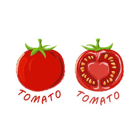 Logo Icon Design Tomato Farm