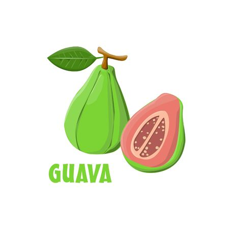 Logo Guava vector farm design