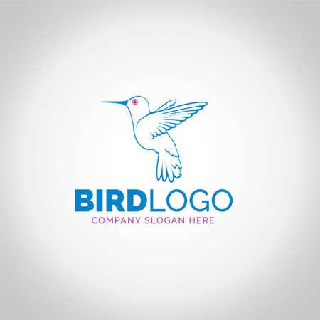 bird logo Ilustração