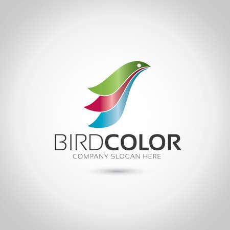 Bird Logo Иллюстрация