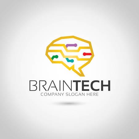 Brain Logo Logo